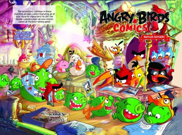 ANGRY BIRDS HC VOL 05 RUFFLED FEATHERS *