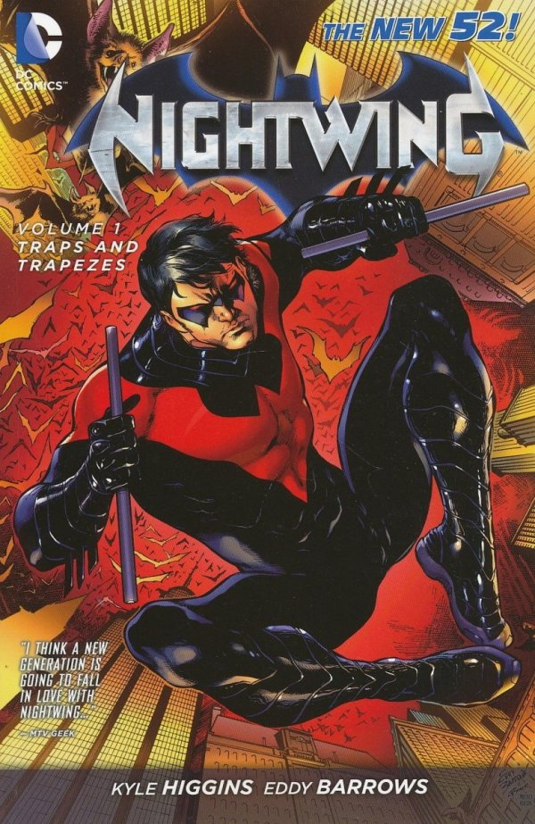 NIGHTWING VOL 01 TRAPS AND TRAPEZES SC
