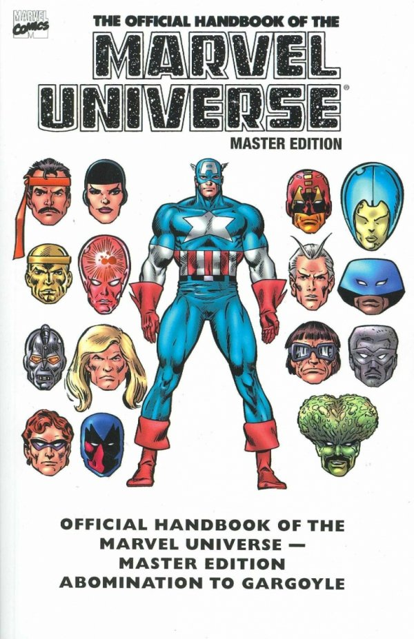 ESSENTIAL THE OFFICIAL HANDBOOK OF THE MARVEL UNIVERSE MASTER EDITION VOL 01 SC *