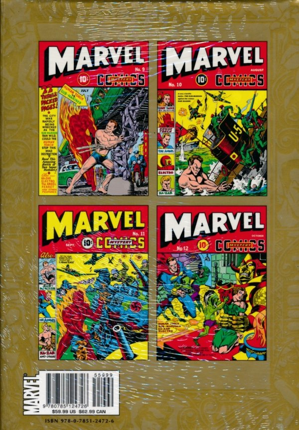 MARVEL MASTERWORKS GOLDEN AGE MARVEL COMICS VOL 03 HC (STANDARD COVER)