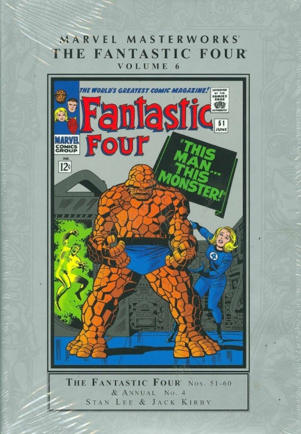 MARVEL MASTERWORKS THE FANTASTIC FOUR VOL 06 HC (NEW EDITION) (STANDARD COVER) *