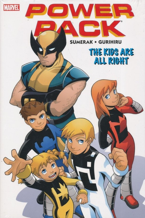 POWER PACK THE KIDS ARE ALL RIGHT HC