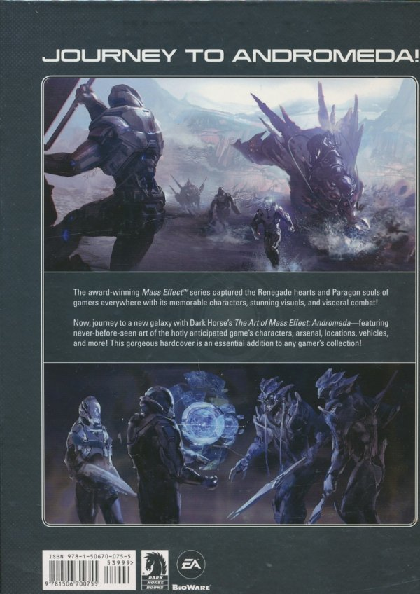 ART OF MASS EFFECT ANDROMEDA HC *