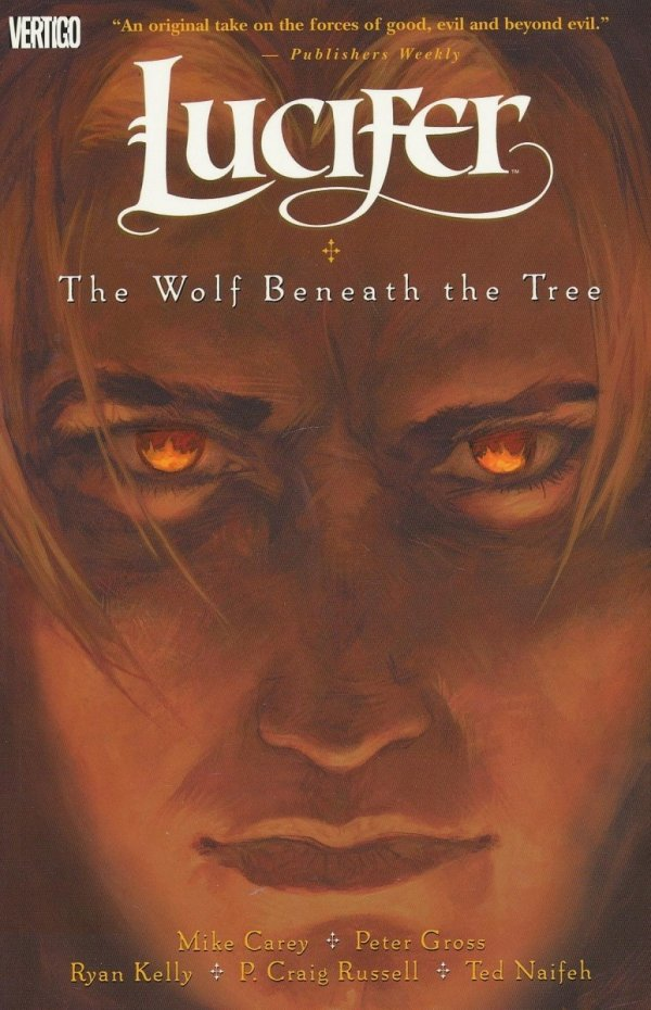 LUCIFER VOL 08 THE WOLF BENEATH THE TREE SC