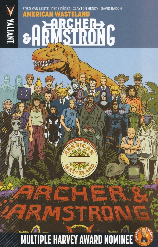 ARCHER AND ARMSTRONG VOL 06 AMERICAN WASTELAND SC