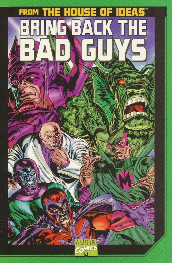 BRING BACK THE BAD GUYS TP
