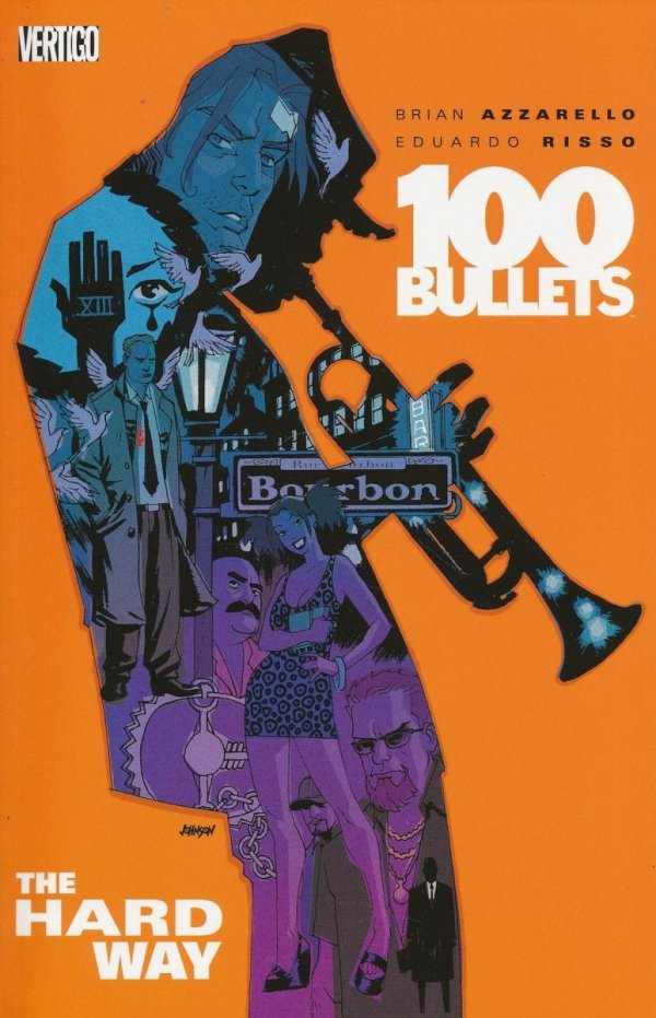 100 BULLETS VOL 08 THE HARD WAY SC (OLD EDITION)