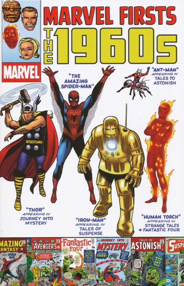 MARVEL FIRSTS THE 1960S SC