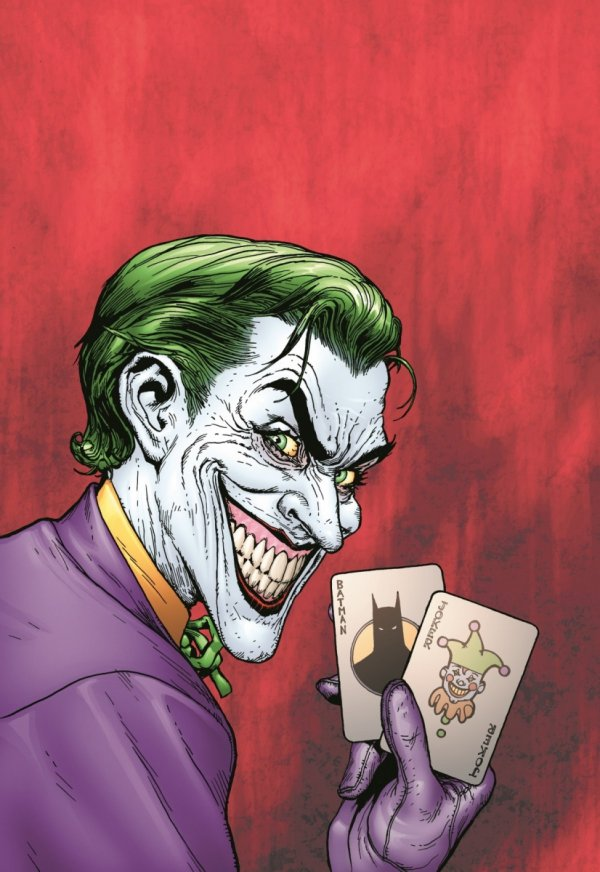 BATMAN THE MAN WHO LAUGHS THE DELUXE EDITION HC *