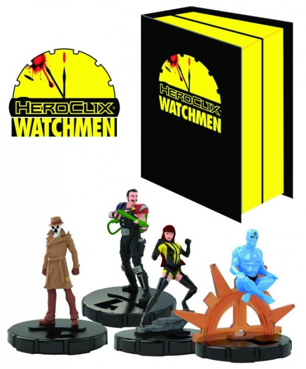 WATCHMEN HEROCLIX COLLECTORS BOX SET STATUE