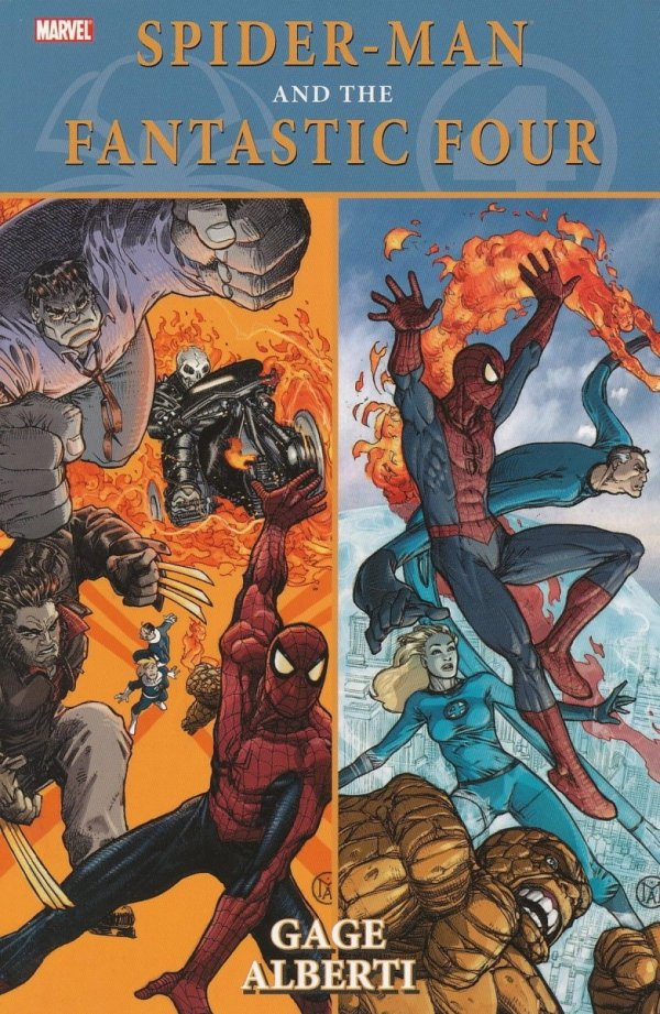 SPIDER-MAN AND THE FANTASTIC FOUR SC