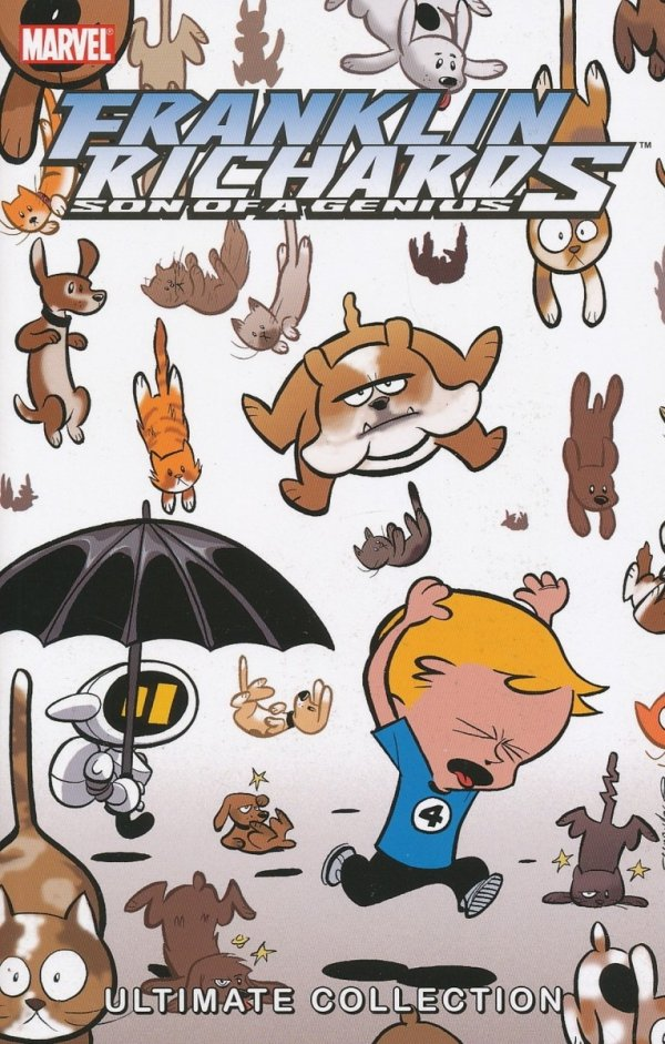 FRANKLIN RICHARDS SON OF A GENIUS ULTIMATE COLLECTION VOL 02 SC *