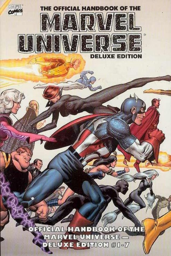 ESSENTIAL THE OFFICIAL HANDBOOK OF THE MARVEL UNIVERSE DELUXE EDITION VOL 01 SC *