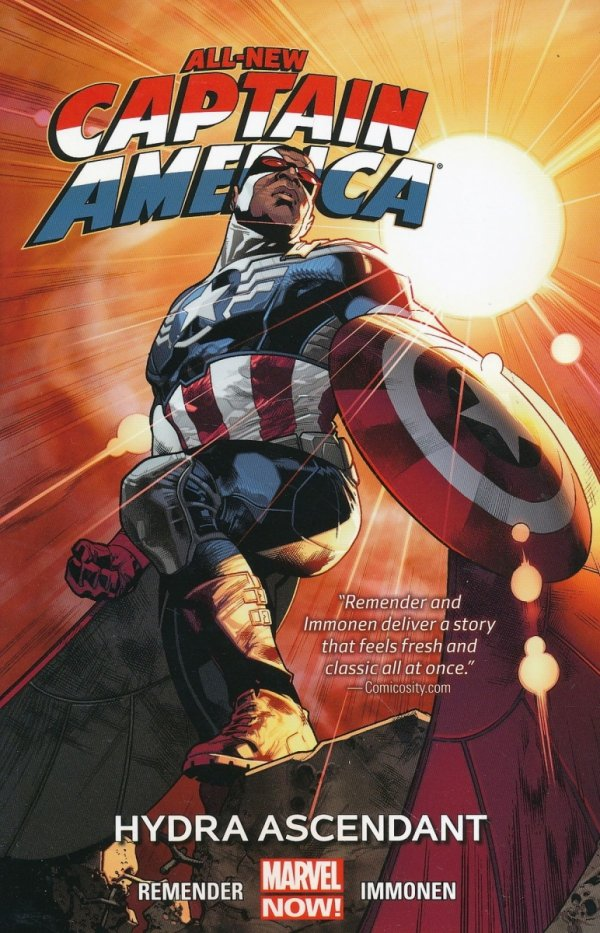 ALL-NEW CAPTAIN AMERICA VOL 01 HYDRA ASCENDANT SC