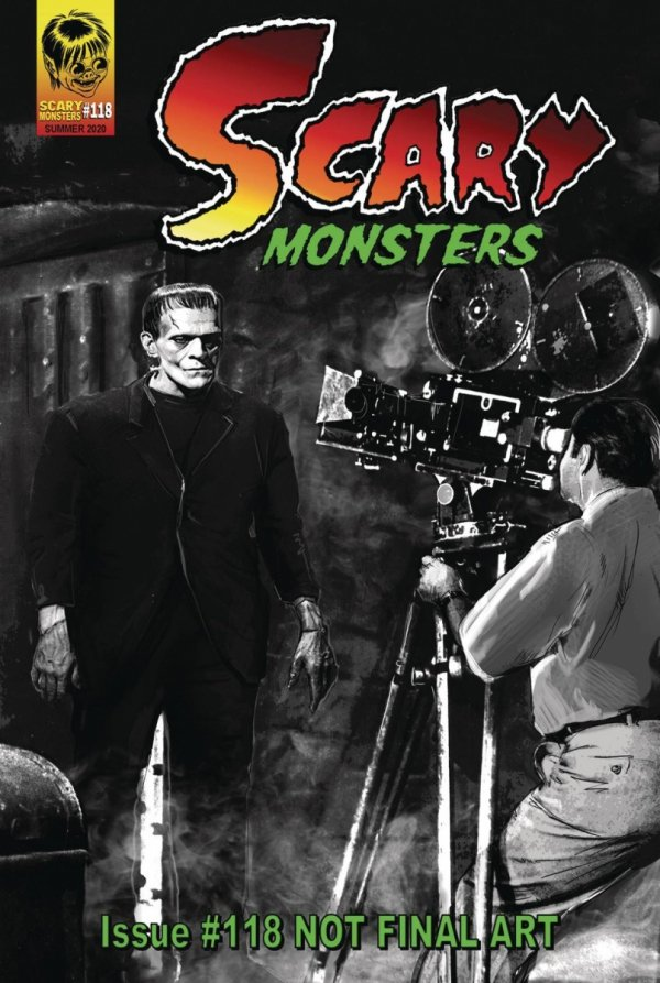 SCARY MONSTERS MAGAZINE #118 *