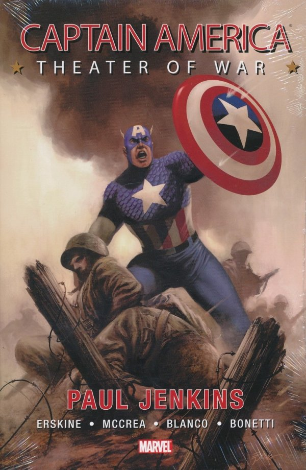 CAPTAIN AMERICA THEATER OF WAR HC (SALEństwo)