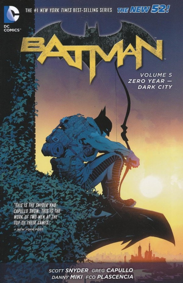 BATMAN VOL 05 ZERO YEAR DARK CITY SC (SUPERCENA)