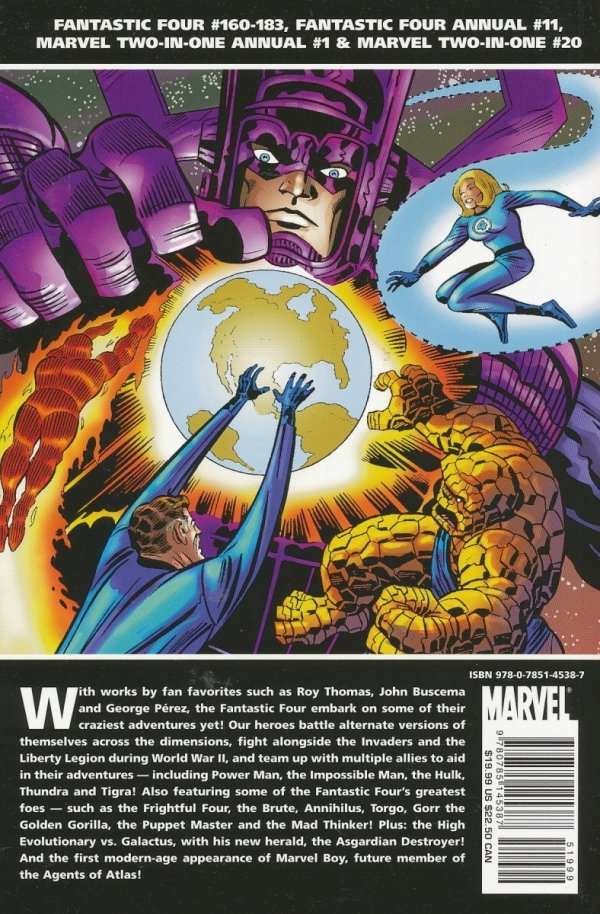 ESSENTIAL FANTASTIC FOUR VOL 08 SC
