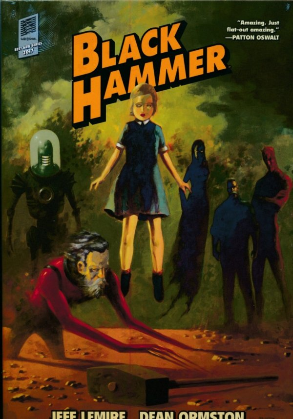 BLACK HAMMER LIBRARY EDITION VOL 01 HC