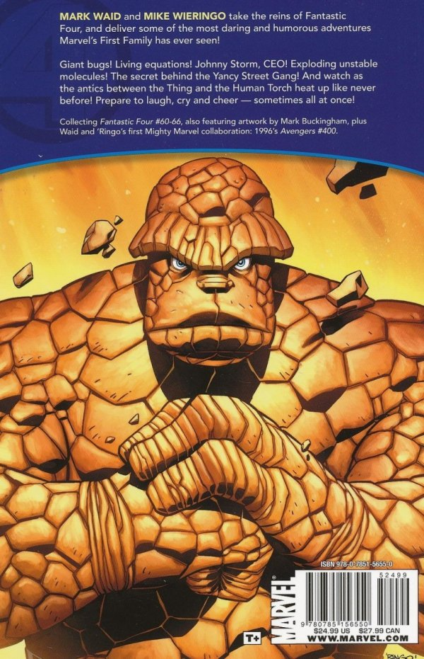 FANTASTIC FOUR BY WAID & WIERINGO ULT COLL TP BOOK 01