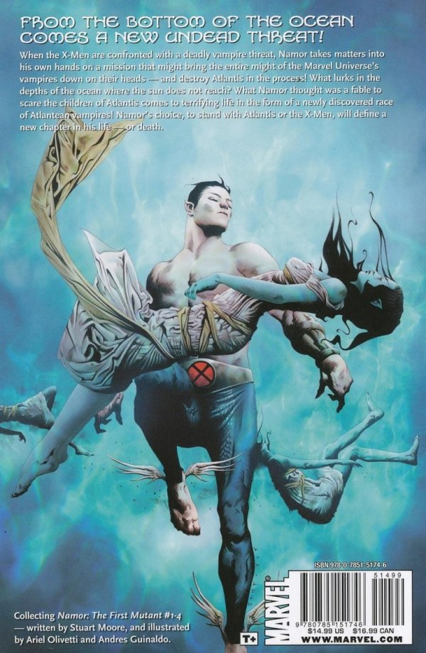 NAMOR FIRST MUTANT TP VOL 01 CURSE OF MUTANTS
