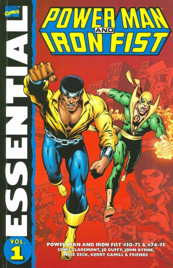 ESSENTIAL POWER MAN AND IRON FIST VOL 01 SC *