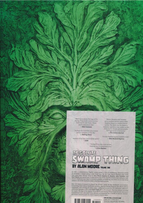 ABSOLUTE SWAMP THING BY ALAN MOORE VOL 01 HC (NEW EDITION)