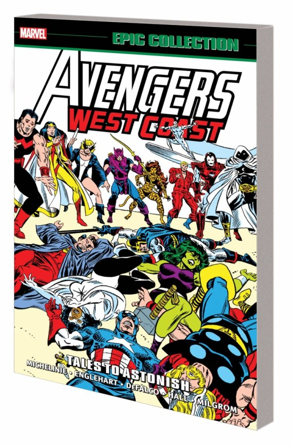 AVENGERS WEST COAST EPIC COLLECTION TALES TO ASTONISH SC *