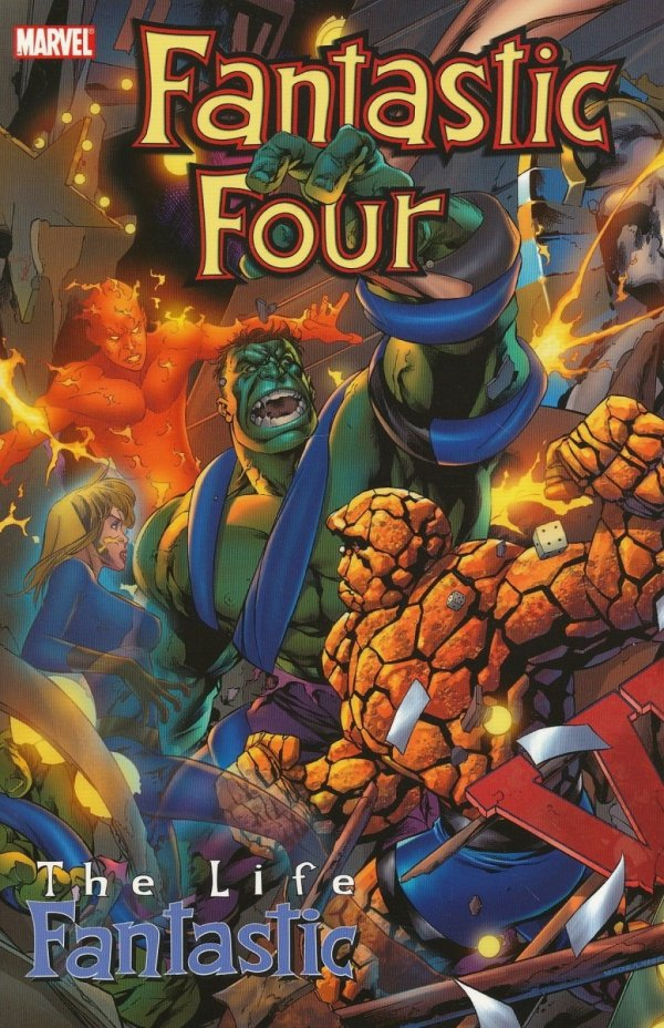 FANTASTIC FOUR THE LIFE FANTASTIC SC *
