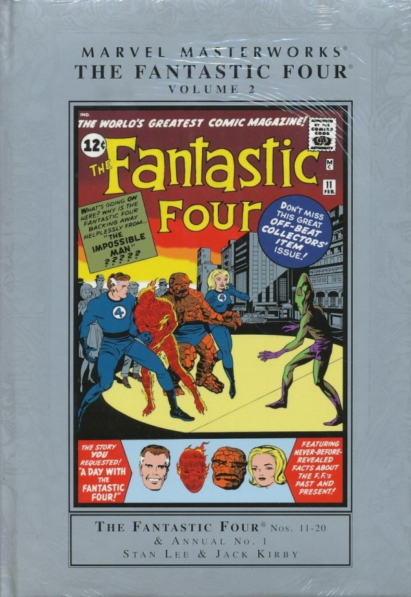 MARVEL MASTERWORKS THE FANTASTIC FOUR VOL 02 HC (STANDARD COVER)