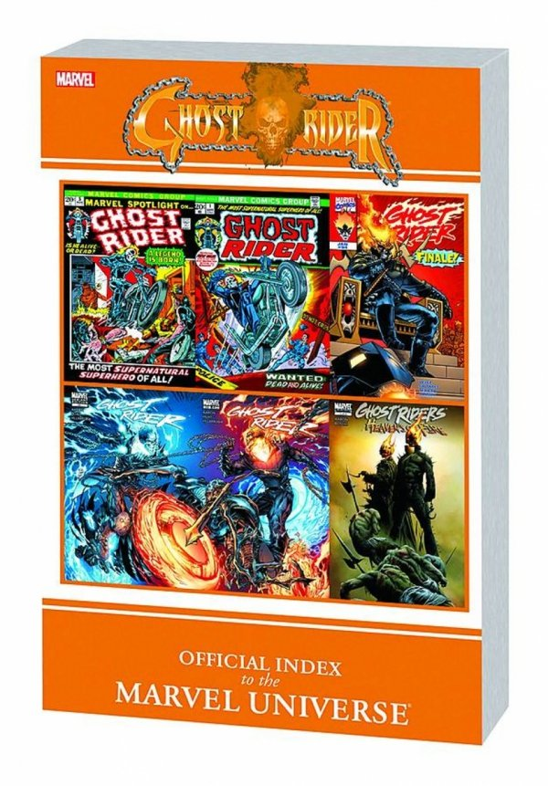 GHOST RIDER OFFICIAL INDEX TO THE MARVEL UNIVERSE SC *
