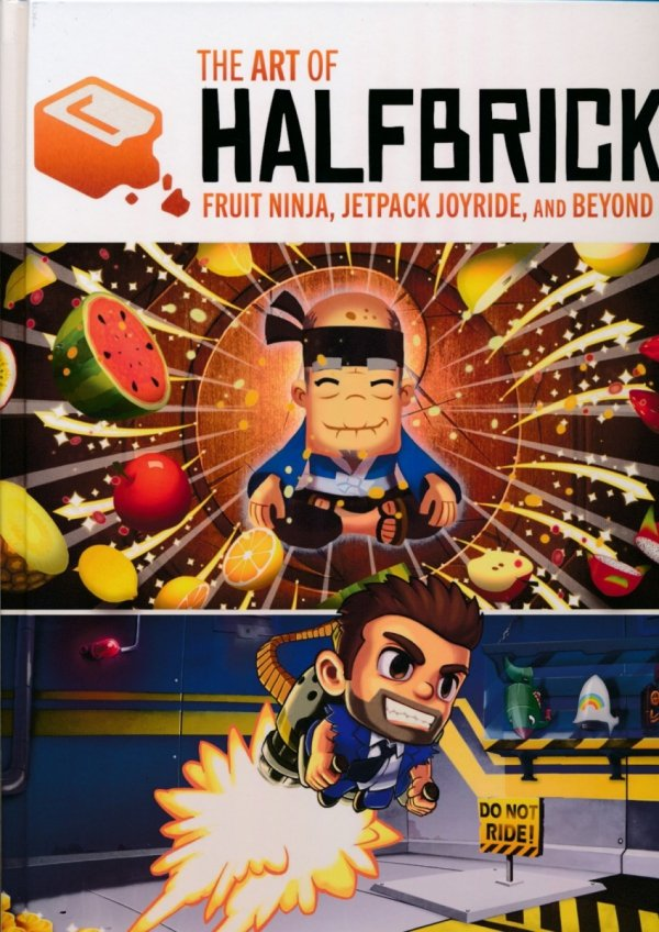 ART OF HALFBRICK FRUIT NINJA JETPACK JOYRIDE AND BEYOND HC