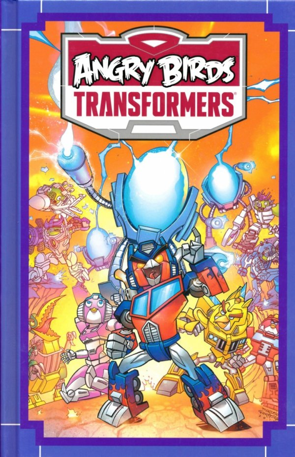 ANGRY BIRDS TRANSFORMERS HC AGE OF EGGSTINCTION *