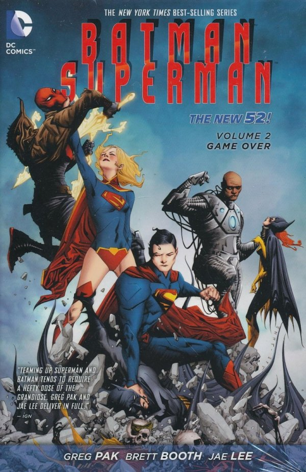 BATMAN SUPERMAN VOL 02 GAME OVER HC