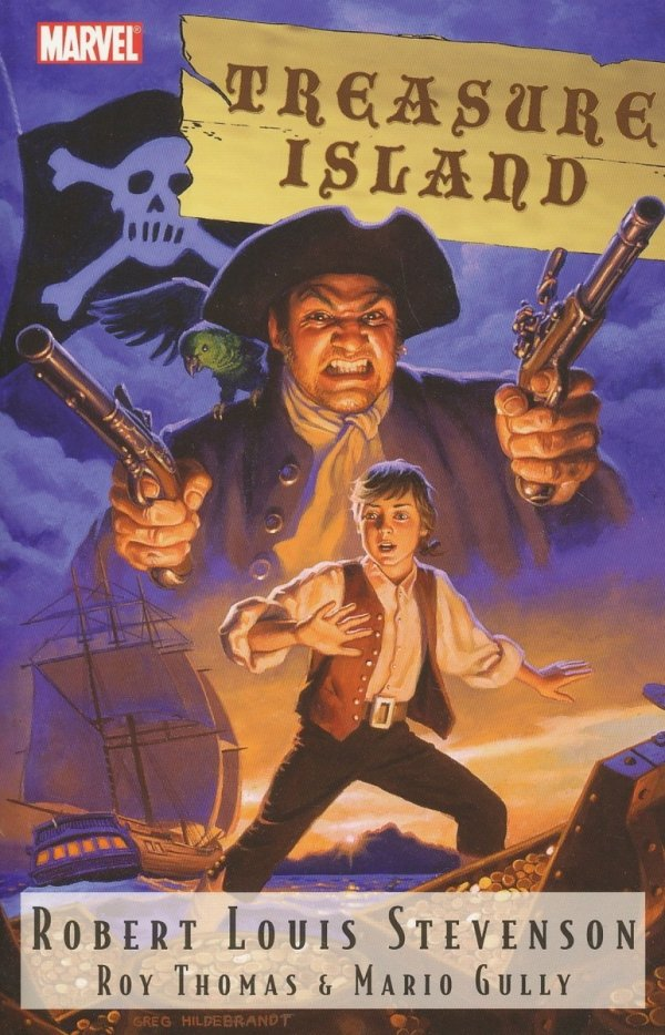 MARVEL ILLUSTRATED TP TREASURE ISLAND