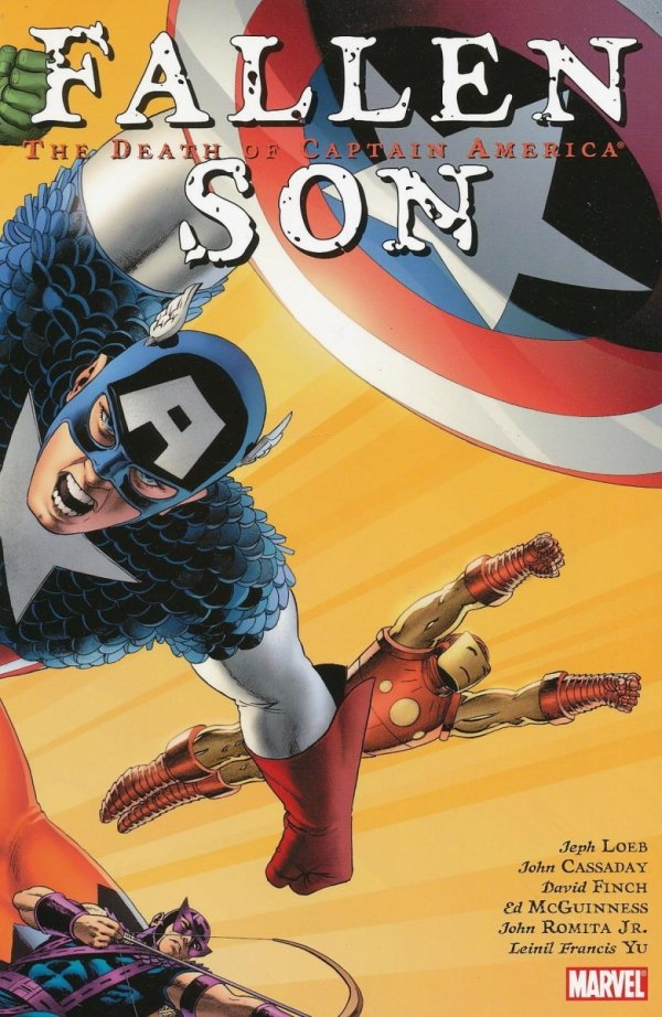 FALLEN SON THE DEATH OF CAPTAIN AMERICA SC (OLD EDITION) *