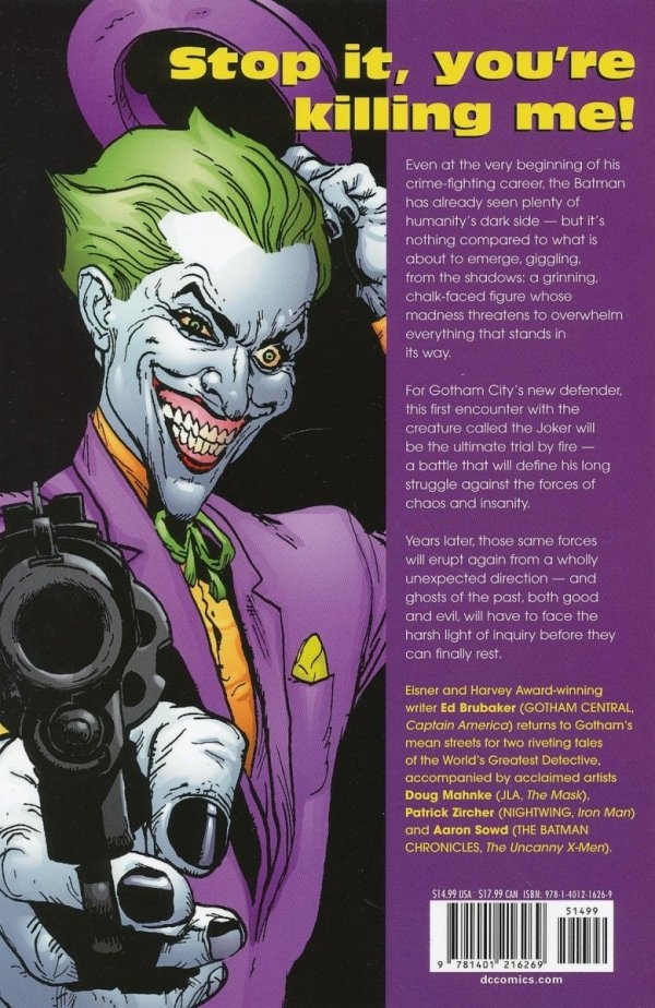 BATMAN THE MAN WHO LAUGHS SC