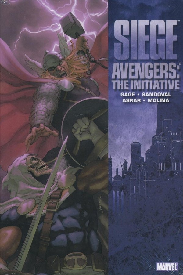 SIEGE AVENGERS THE INITIATIVE HC