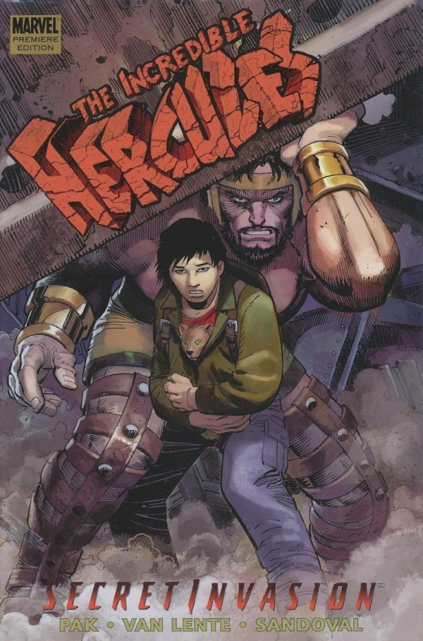 INCREDIBLE HERCULES SECRET INVASION HC