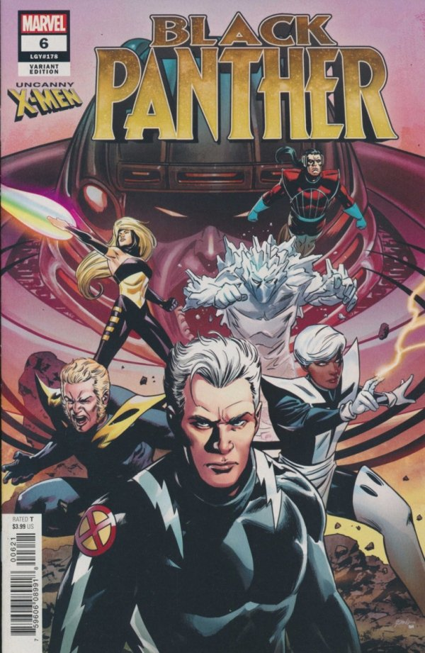 BLACK PANTHER #6 UNCANNY X-MEN VAR