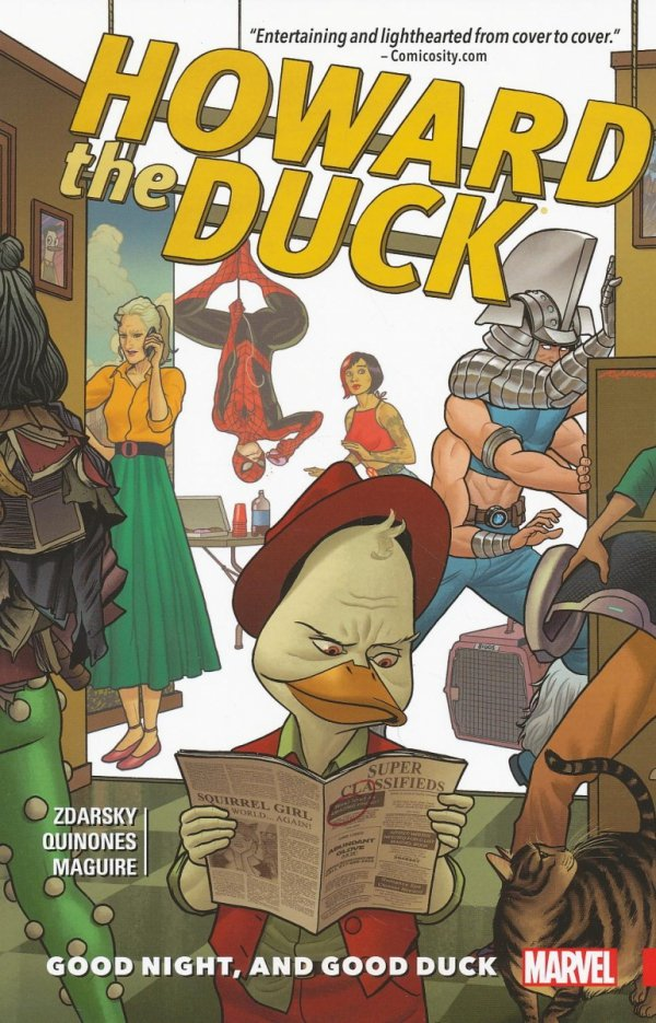 HOWARD THE DUCK VOL 02 GOOD NIGHT AND GOOD DUCK SC