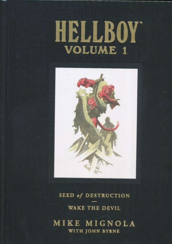 HELLBOY LIBRARY HC VOL 01 SEED DESTRUCTION DEVIL