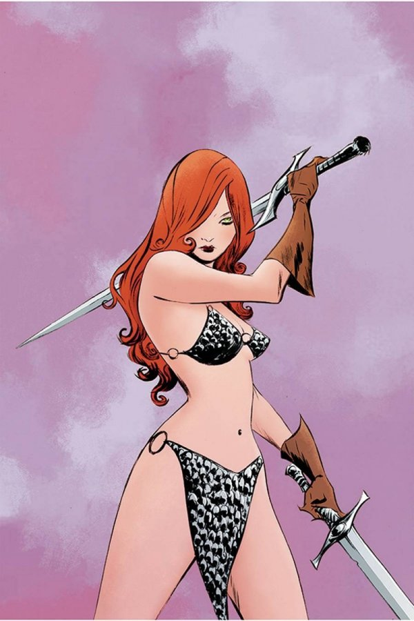 RED SONJA #23 LEE LTD VIRGIN CVR *