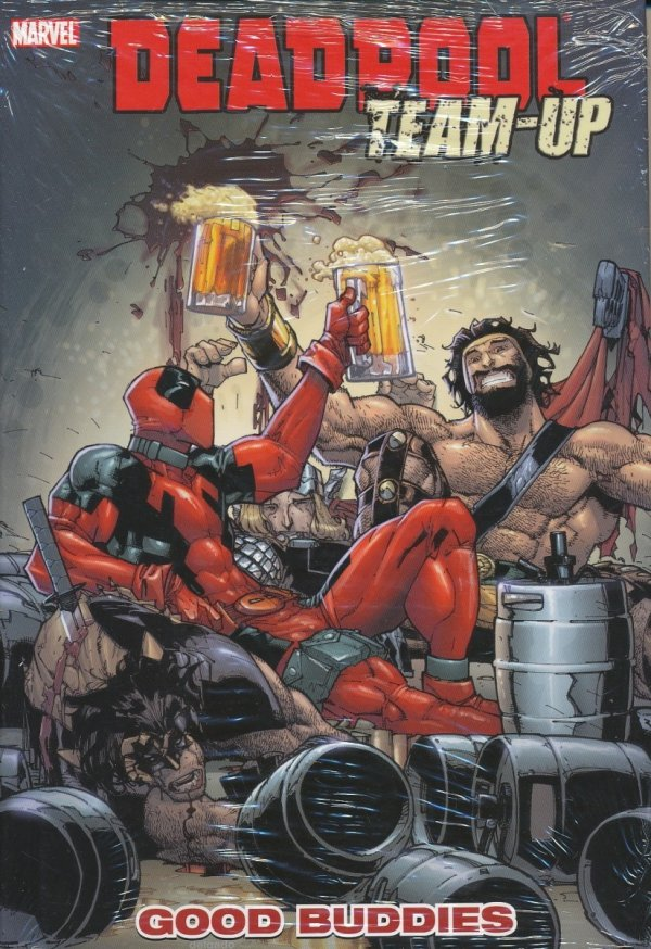 DEADPOOL TEAM-UP VOL 01 GOOD BUDDIES HC
