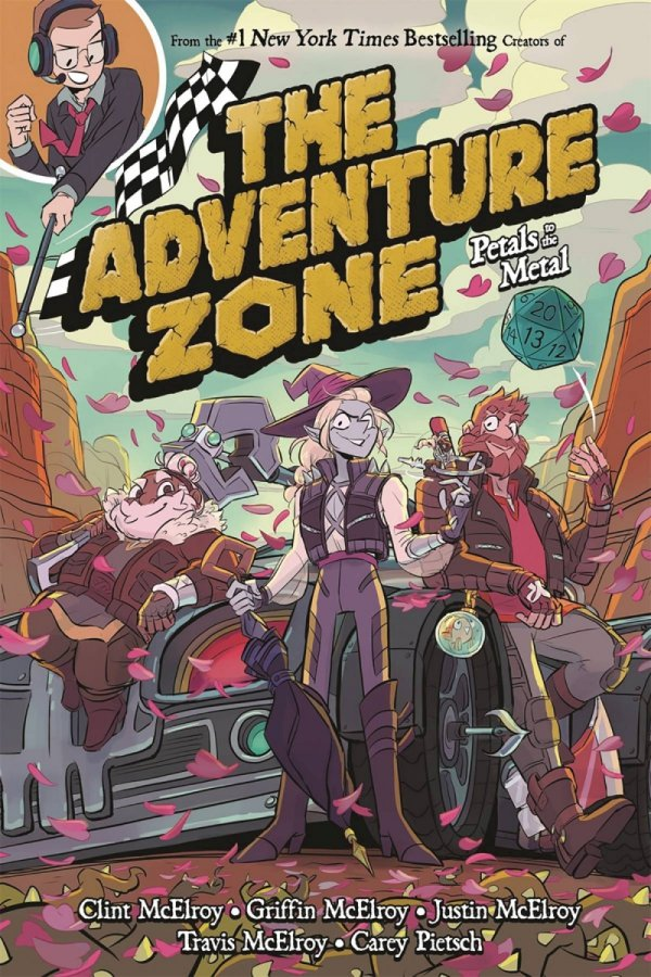 ADVENTURE ZONE GN VOL 03 PETALS TO METAL *