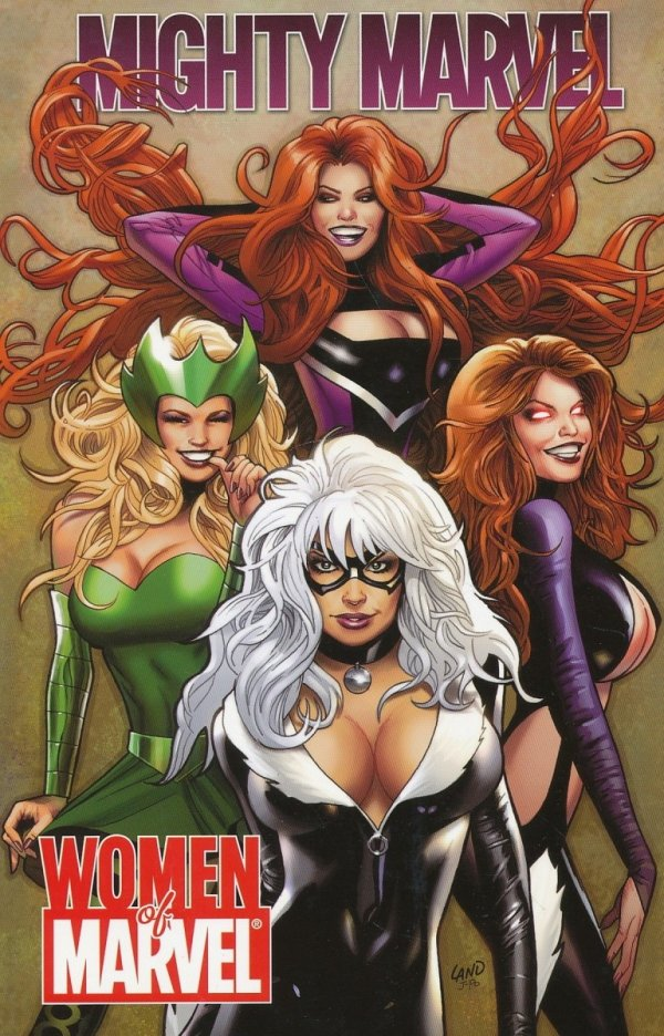 MIGHTY MARVEL WOMEN OF MARVEL SC