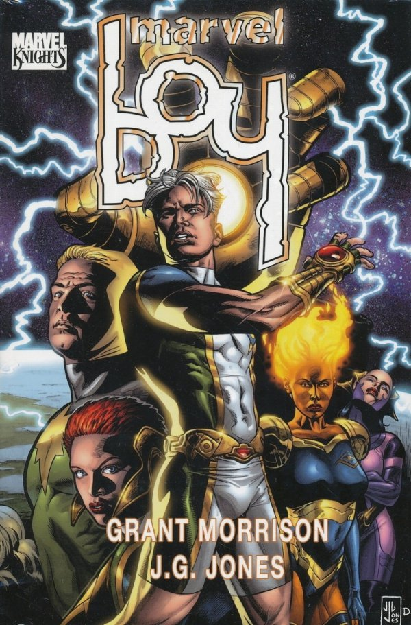 MARVEL BOY HC (VARIANT COVER)