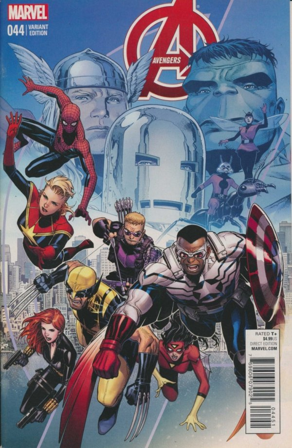 AVENGERS #44 CHEUNG END OF AN ERA VAR