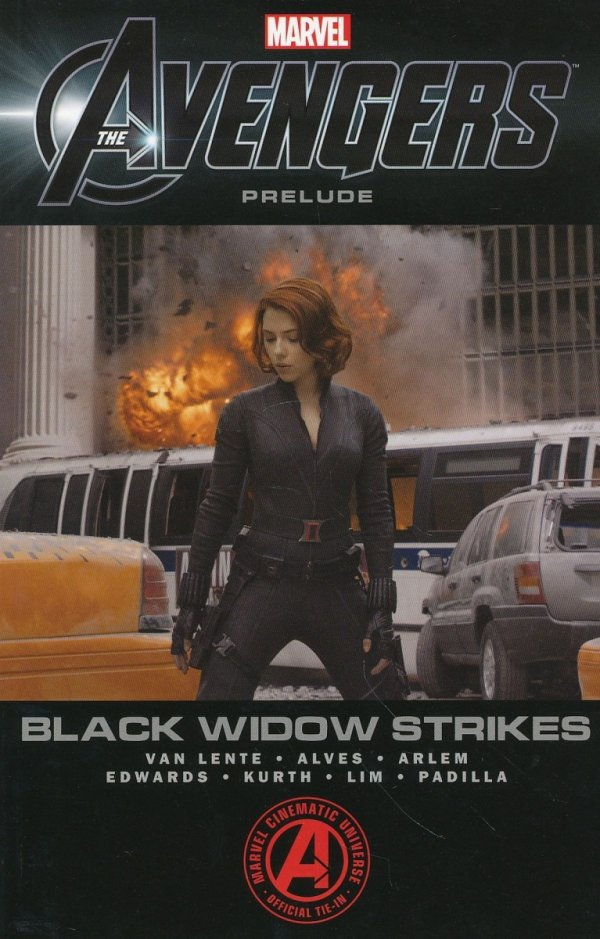 MARVELS THE AVENGERS BLACK WIDOW STRIKES SC