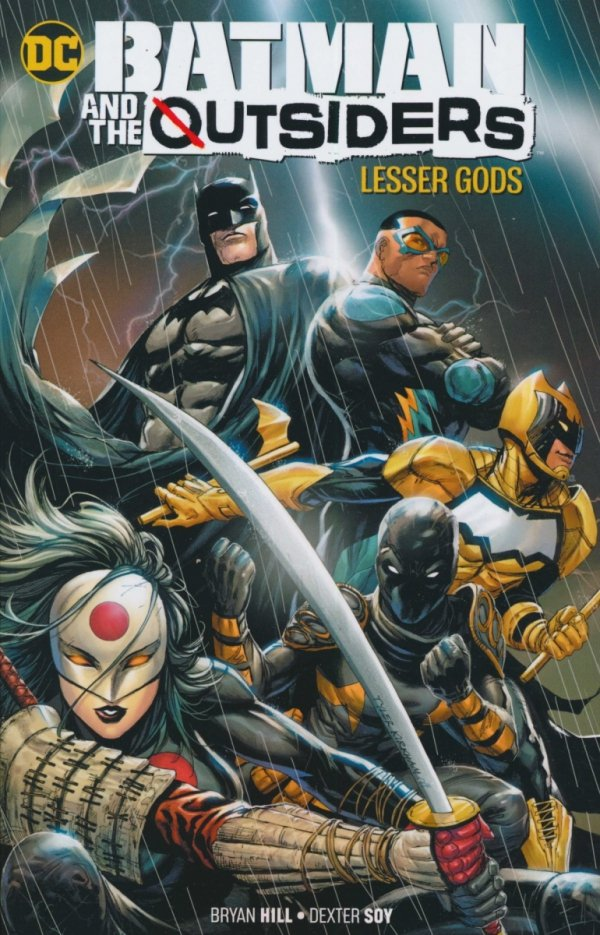 BATMAN AND THE OUTSIDERS LESSER GODS SC
